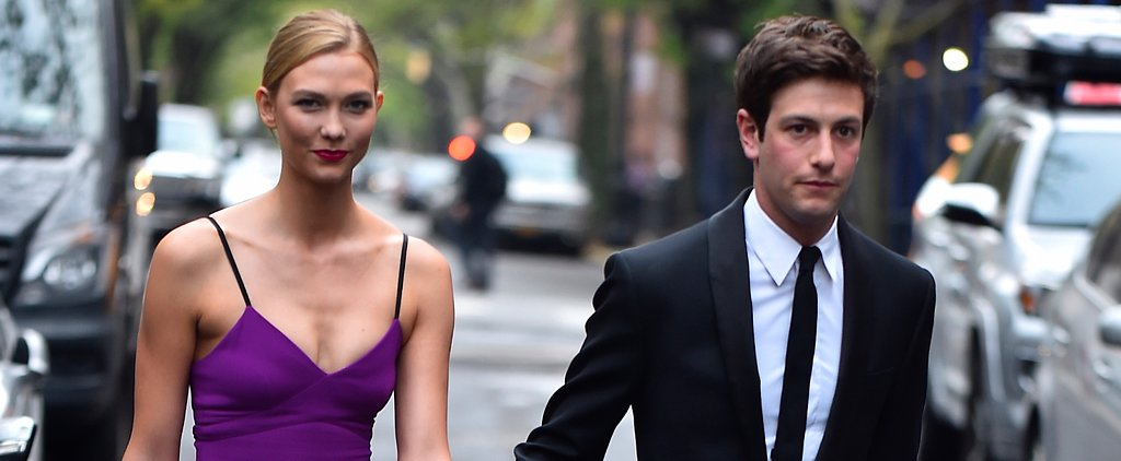 Karlie Kloss Looks Like a '90s Supermodel in This Purple Dress, and We Can't Even Handle It