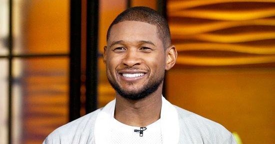 Usher's Nude Selfie Was Only Part of His Really, Really Long Day: See Everything He Snapped