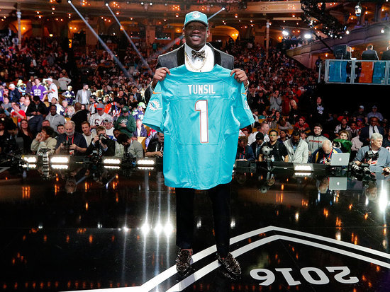 First Round Draft Pick Laremy Tunsil Says Social Media was Hacked As Compromising Video Emerges Minutes Before Draft