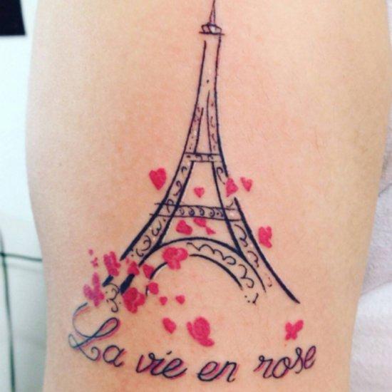 Tatouages Représentant la France