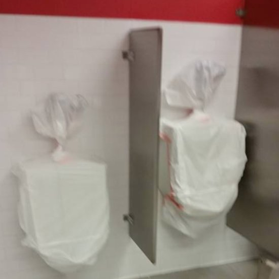 Target Does Not Have Urinals in Women's Restrooms
