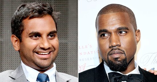 Kanye West Makes Aziz Ansari's Parody of 'Famous' the Official Music Video