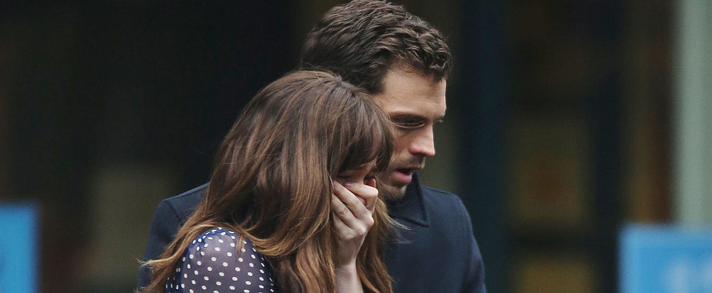 We Decoded What Christian and Ana Are Saying in These Fifty Shades Darker Set Pictures