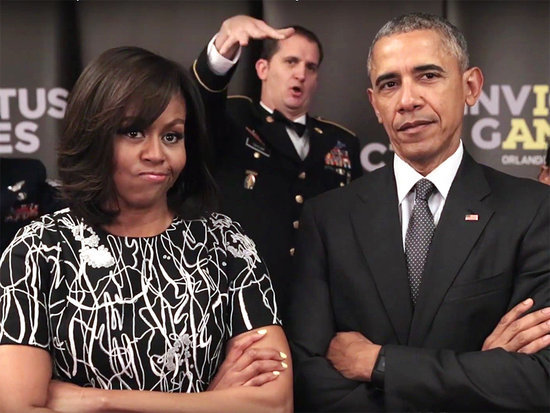 President Obama and the First Lady to Prince Harry: 'Careful What You Wish For!'