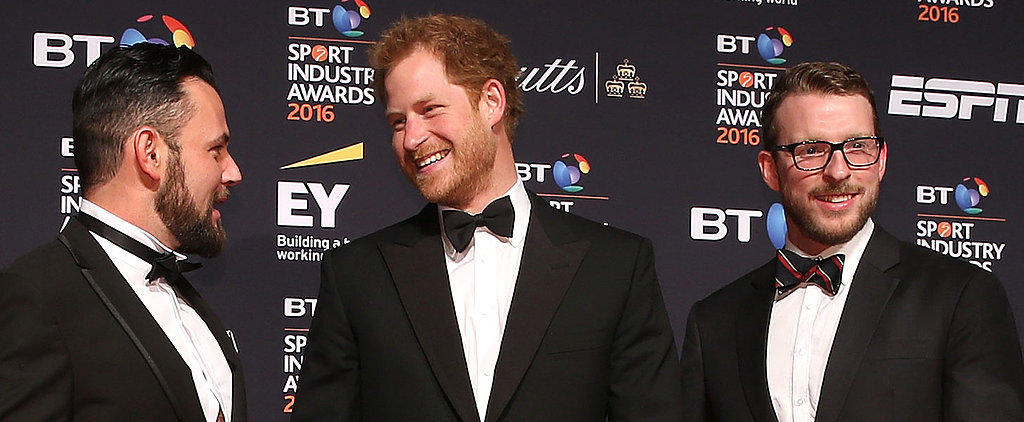 Prince Harry Looks More Like Prince Charming While Showing Off His Dashing Good Looks on the Red Carpet