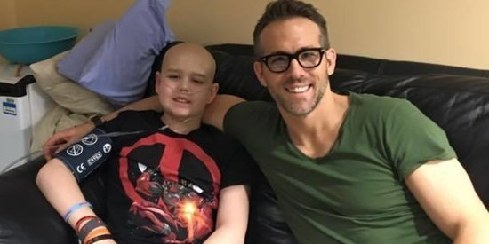 Ryan Reynolds Shares Heartfelt Tribute To Teenage Cancer Patient