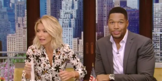 Kelly Ripa Seemingly Goes Off-Script With Dig About Michael Strahan's Divorces
