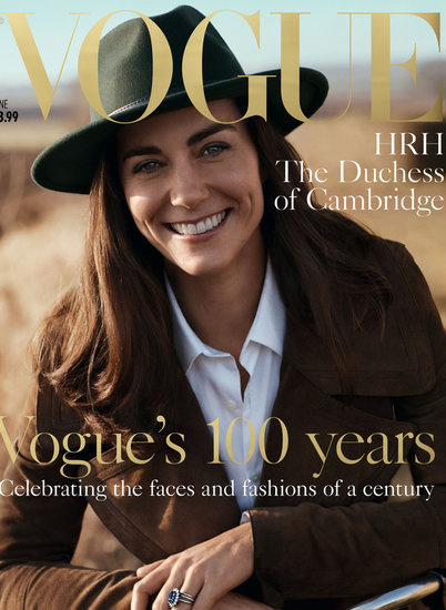 Kate Middleton Appears On Her First Fashion Cover