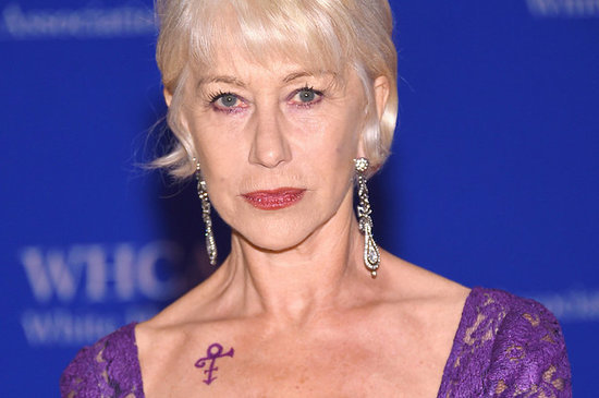 Helen Mirren Paid Tribute To Prince At The White House Correspondents' Dinner