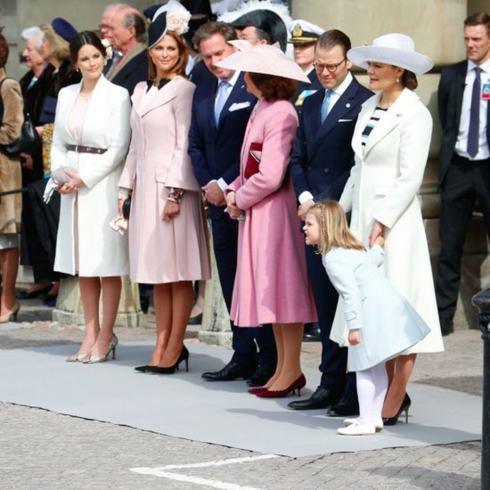 Royal Style at King Carl Gustaf's 70th Birthday Celebration