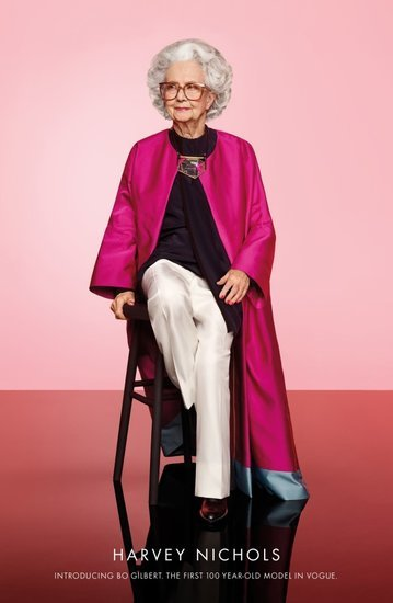 100-Year-Old Model Tells Vogue The Best Thing Ever