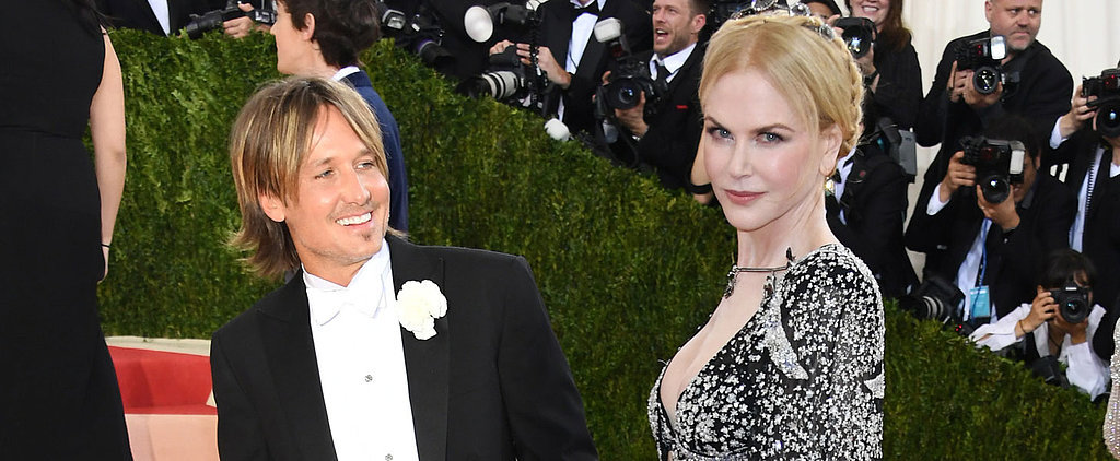Nicole Kidman and Keith Urban Ignore the Met Gala's Flashing Lights and Focus on Each Other