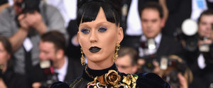 Katy Perry Goes Black and Blue For the Met Gala