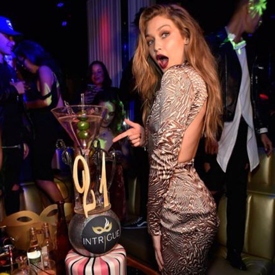 Gigi Hadid's 21st Birthday Instagram Pictures 2016