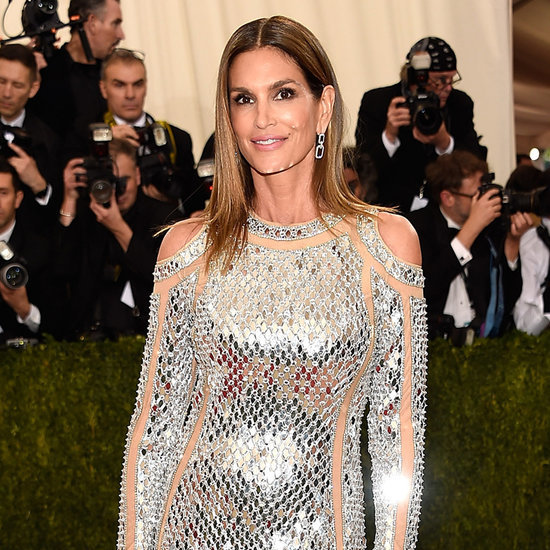 Cindy Crawford at the Met Gala 2016