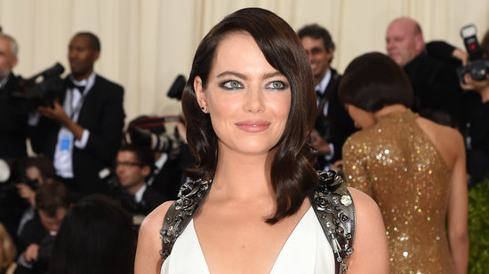 Emma Stone Is Unrecognizable With Darker 'Do and Fresh Tan at Met Gala