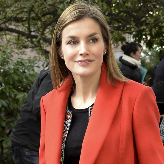 Queen Letizia's Statement Jackets