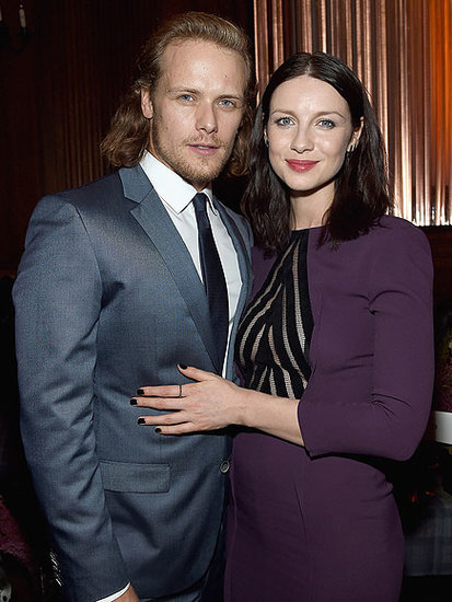 Caitriona Balfe Reveals Exactly Who Is Keeping Her from Falling in Love with Outlander Costar Sam Heughan (Hint: On-Camera Sex S