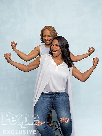 WATCH: Audra McDonald On What She Got From Her Mom (Her Strong Arms!) - and What She Didn't (Her Height!)