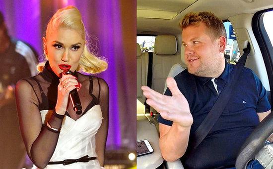 FROM EW: Gwen Stefani Is James Corden's Next Passenger for Carpool Karaoke