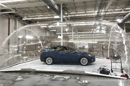 Tesla's 'Bioweapon Defense' Filter Can Purify Air That Would Kill You