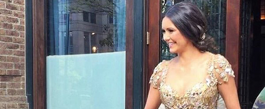 Nina Dobrev's Met Gala Gown Looks Like Something Straight Out of The Vampire Diaries