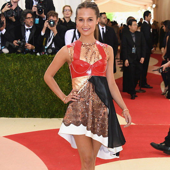 Alicia Vikander Louis Vuitton Dress at Met Gala 2016