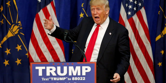 Donald Trump Just Won Indiana -- And Probably The Republican Nomination