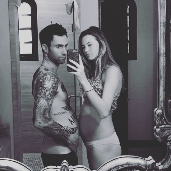 Adam Levine and Behati Prinsloo Pregnancy Instagram Photo