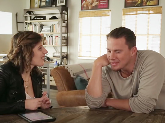 Watch Channing Tatum's Sweet Interview with a Reporter with Autism