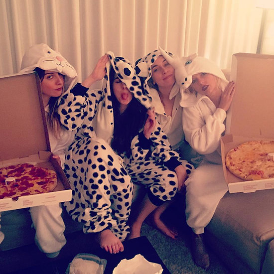 Taylor Swift's Met Gala After Afterparty Looks Like the Best Sleepover Ever (with Haim and Pizza!)