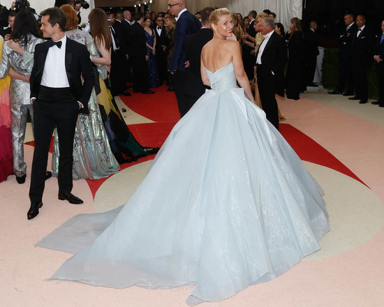 Claire Danes's light-up Zac Posen dress at the 2016 MET Gala