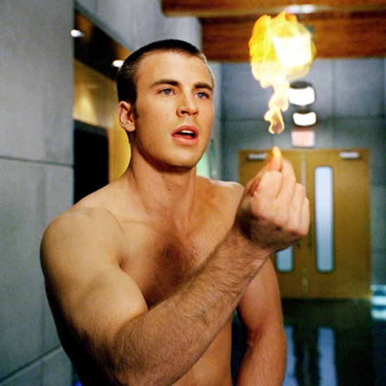 Chris Evans Shirtless Movie GIFs