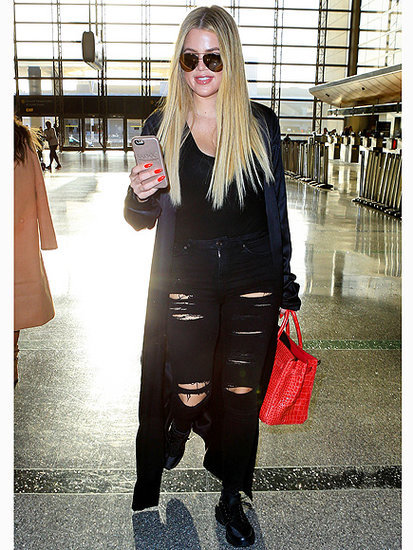 Kardashians Konvene! Khloé Kardashian Travels to Miami to Be with Big Sis Kourtney and the Kids
