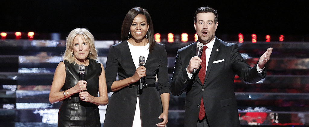 Forget the Met Gala — the True Fashion Event Was When the First Lady Visited The Voice