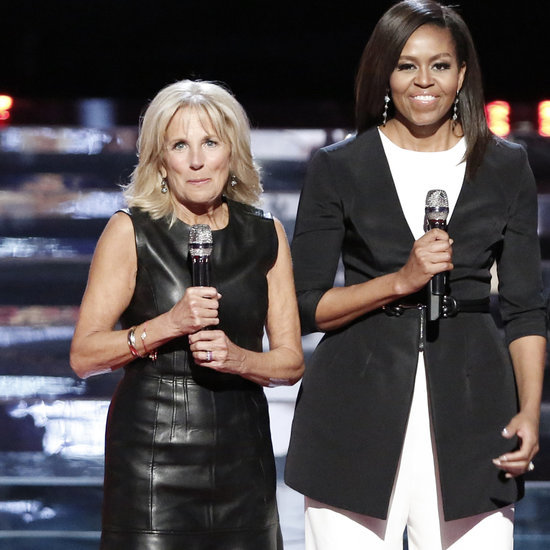 Michelle Obama's Outfit on The Voice May 2016