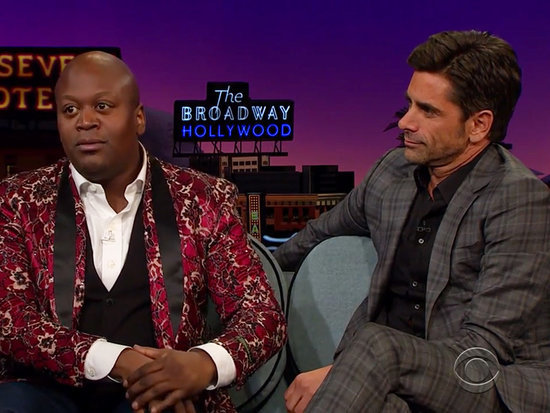 Tituss Burgess and John Stamos Belt Out 'Kiss the Girl' from The Little Mermaid with a Little Help from James Corden