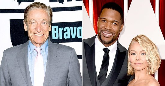 Maury Povich Rips Kelly Ripa, Michael Strahan for Acting Like 'Divas'
