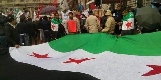 Protesters Around The World Unite In Solidarity For Aleppo