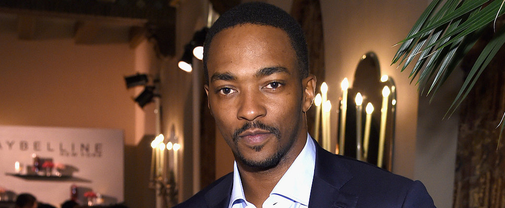 Take a Moment to Marvel at Anthony Mackie's Most Swoon-Worthy Moments