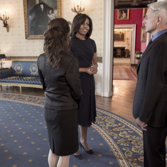 Michelle Obama's NCIS Dress