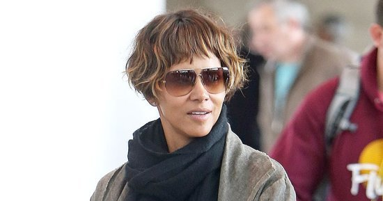 Halle Berry Gets Ear-Length Textured Bob Haircut With Blunt Bangs: See Her Makeover