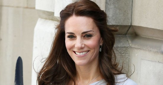 Kate Middleton Tweaks Her Signature Half-Up Hairstyle