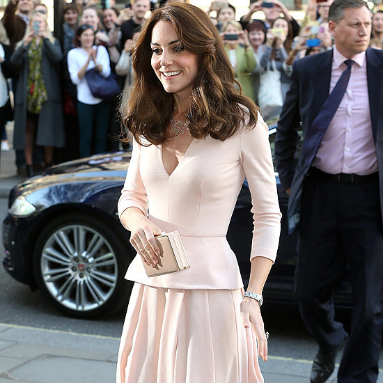 Kate Middleton's Pink Alexander McQueen Dress May 2016