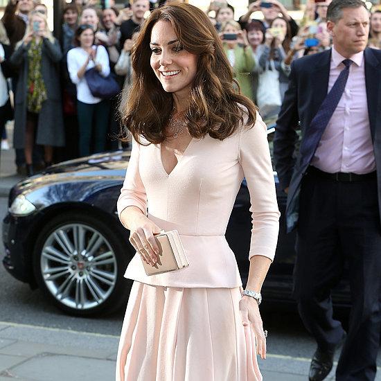 Kate Middleton's Pink Alexander McQueen Dress May 2016