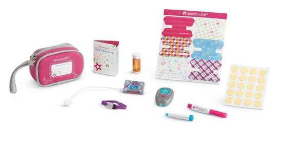 Diabetes Kits Are the Cool New Accessory for American Girl Dolls