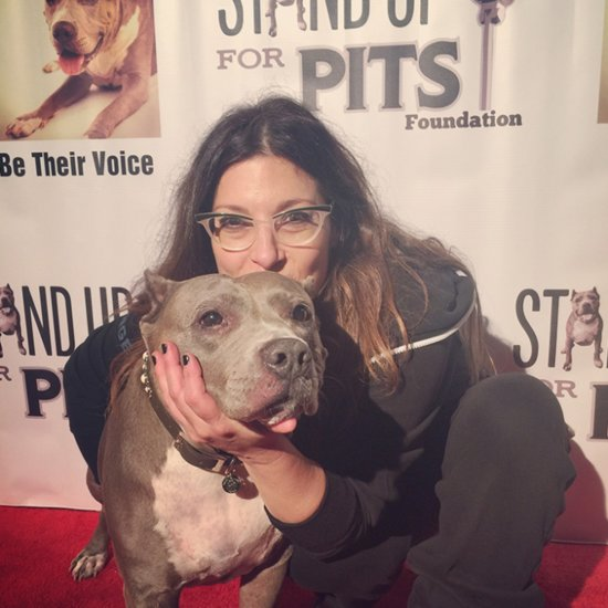 Comedian Stands Up For Pit Bulls