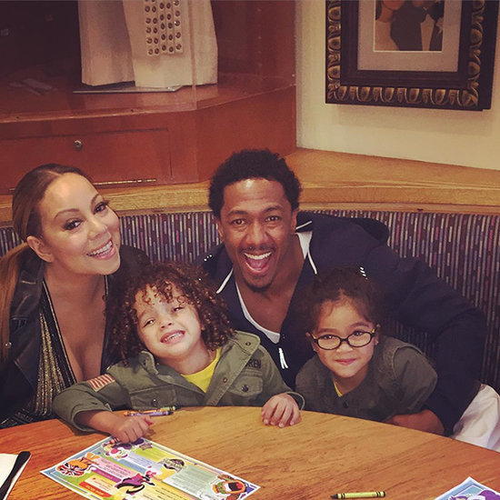 Mariah Carey and Nick Cannon Are Happy Co-Parents with Their Twins During Pre-Mother's Day Dinner