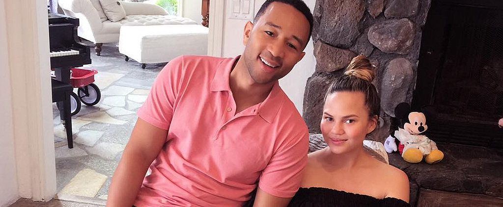 The Unexpected Item Chrissy Teigen Wore Before, During, and After Pregnancy