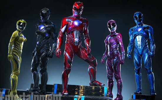 FROM EW: First Look at Power Rangers Reboot New Suits